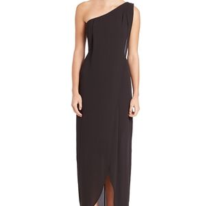 BCBG BLACK 'DRIES' DRESS SZ 2